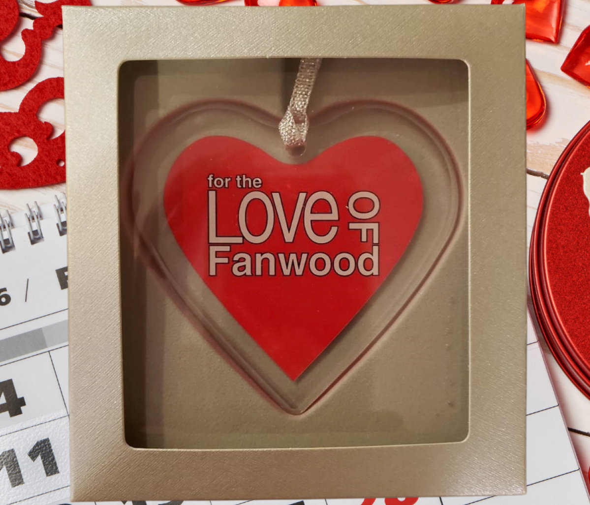 Ornament/Sun Catcher - For the Love of Fanwood